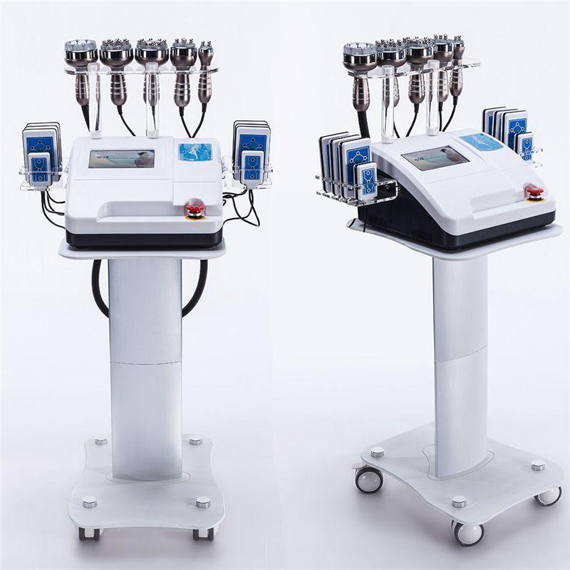 2019HOT VERKAUF!!! Ultraschall Fettabsaugung 40 K Kavitation Radio Frequenz Vakuum Bipolar RF Maschine Abnehmen Schönheit Ausrüstung