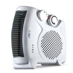 220V 3 Gear Mini Electric Warm Air Blower Electric Air Heater Room Fan Heater Cold and Warm Dual Purpose Overheat Protection