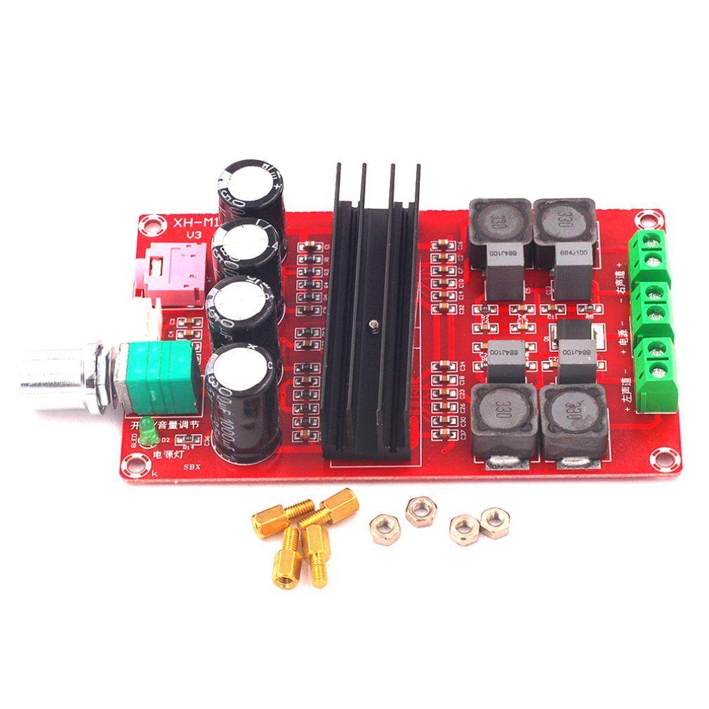 XH-M190 TDA3116D2 High Power Digital Power Verstärker Bord TPA3116 Dual Kanal Verstärker Bord 12-24V
