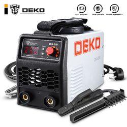 DEKO 220V 200/250A IGBT Inverter AC Arc Welding Machine MMA Welder for Welding Working and Electric Working w/ Accessories