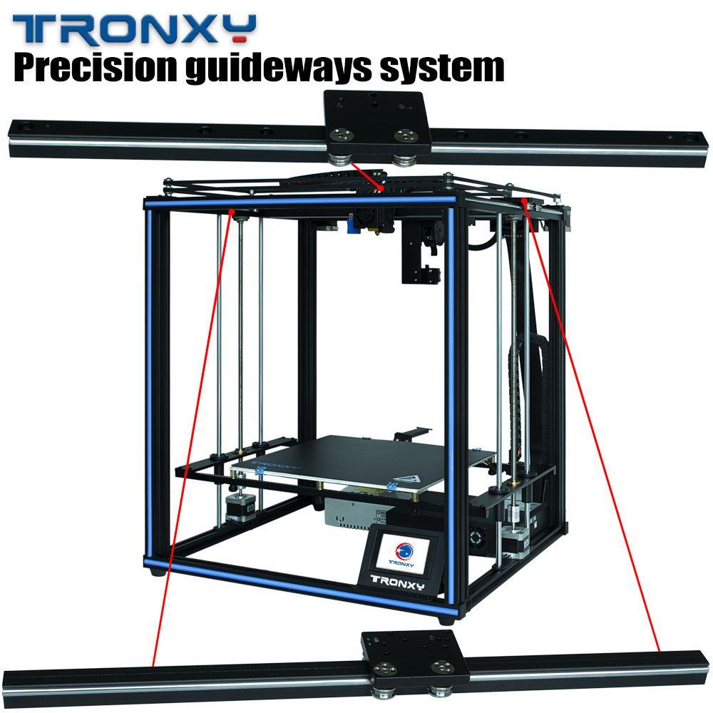 Führungsschiene CoreXY FDM DIY 3d drucker TRONXY X5SA PRO Titan extruder flexible filamente professionelle 3d drucker
