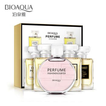 5pcs/lot Liquid Pheromones Female Perfumes 100% Natural Fragrance Spray Scent Parfum For Women Antiperspirant in Bottles