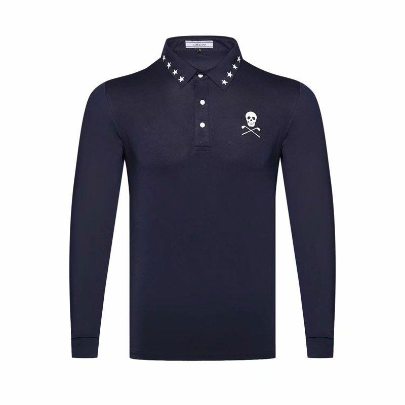 Cooyute nouveau vêtement de sport manches complètes MAPK & LONA Golf T-shirt 4 couleurs Golf vêtements S-XXL au choix loisirs Golf chemise livraison gratuite