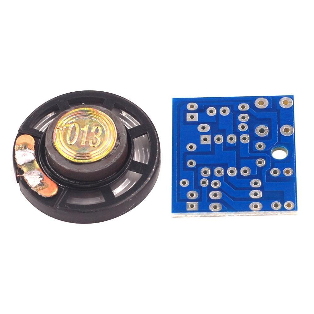 Diy Ne555 Ding-Dong Deurbel Kit/Digitale Deurbel Productie Suite Modul Sensor/Elektronische Komponente