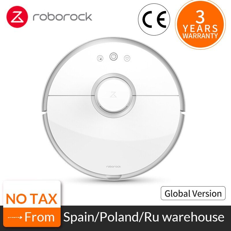 Roborock S50 S55 Xiaomi Vacuum Cleaner 2 for Home Sweeping Wet Mopping Robotic Cleaning Dust Mi Smart Automatic Wireless Robot
