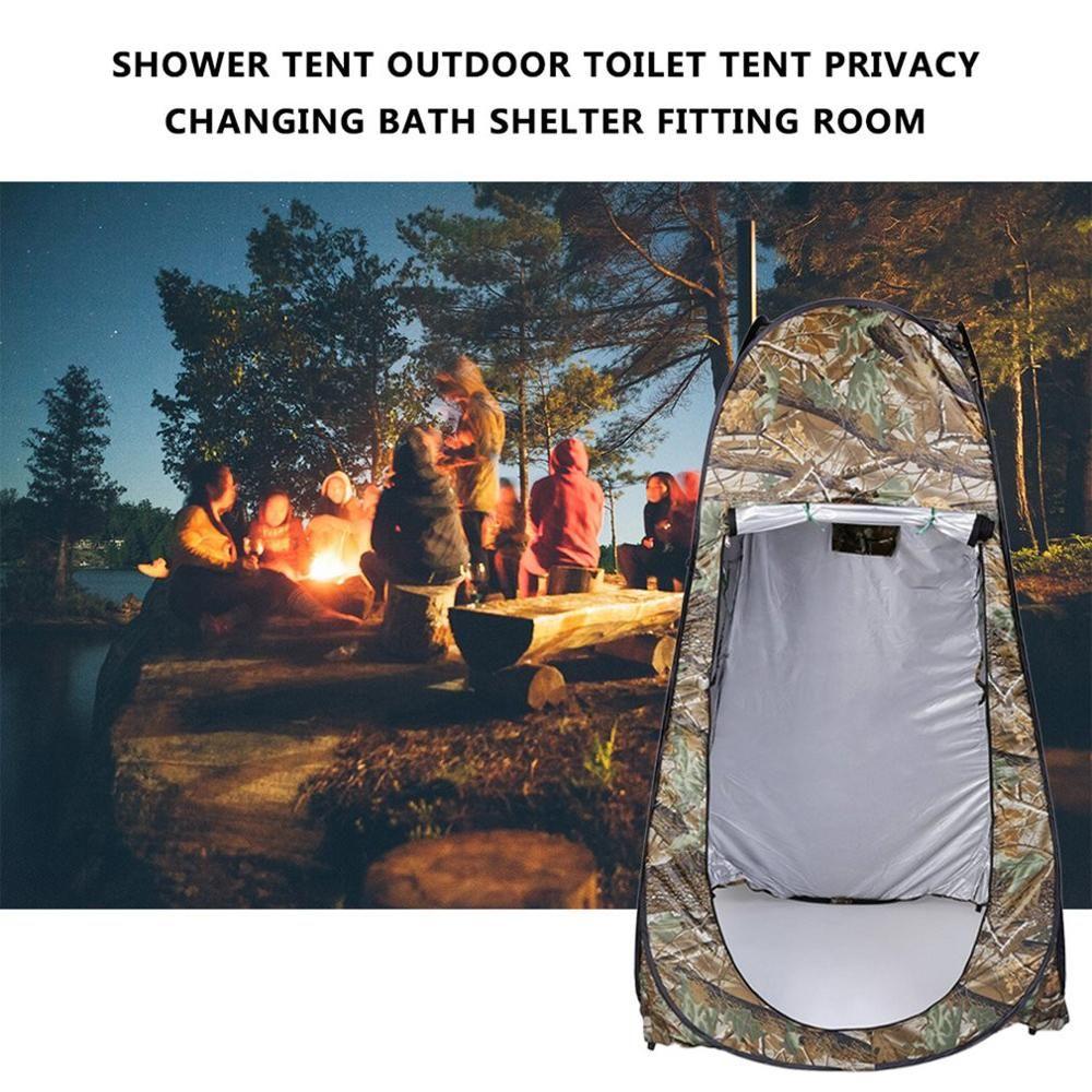 Tente de douche plage pêche douche camping extérieur toilette tente, vestiaire douche tente avec sac de transport livraison gratuite