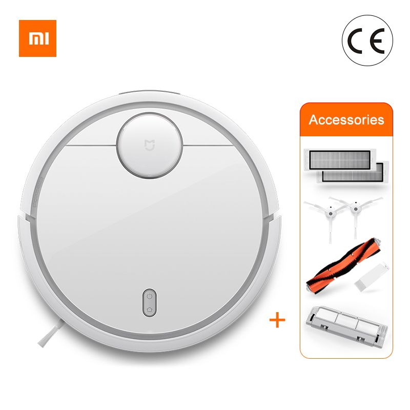 Globale Version Original Xiao mi mi Roboter Staubsauger mi Robotic Smart Geplant Typ App Control Auto Ladung LDS Scan kehr