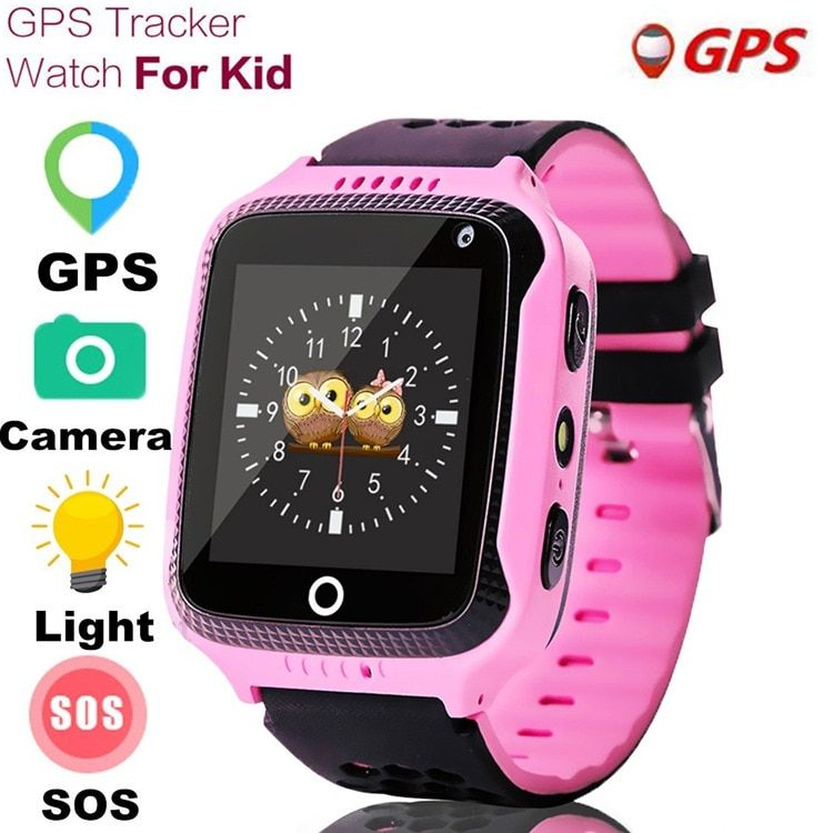New Q528 Children GPS Smart Watch With Flashlight Baby Watch 1.44inch SOS Call Location Device Tracker for Kid Safe watches
