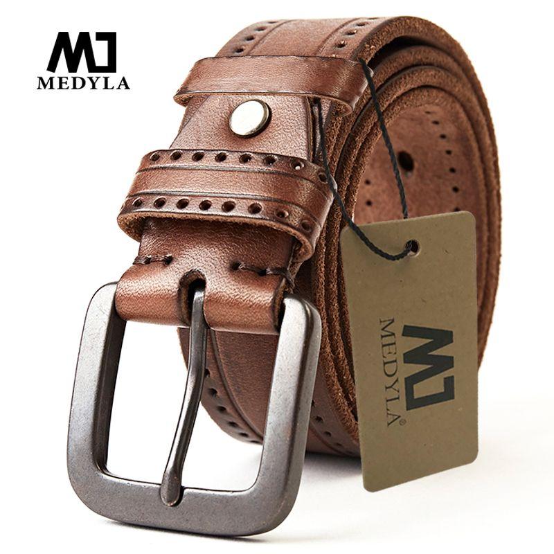Couche supérieure en cuir de vachette ceinture mode technologie hommes ceinture en alliage importé boucle sangle large Cinto Masculino luxe Cummerbund
