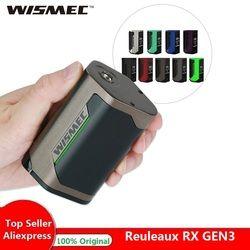 Оригинал 300 Вт WISMEC Reuleaux RX GEN3 TC коробка мод Макс 300 Вт No18650 батарейный блок мод огромная мощность электронная сигарета Vape мод против Drag 2/Люкс мо...
