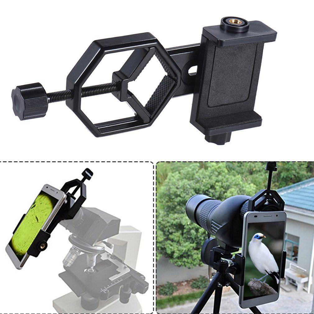 Teleskop Mount Adapter Adjuatable Handy Halter Halterung Clip Für Mikroskop Teleskop Für Iphone 7 Plus/7/6 s/6 Plus