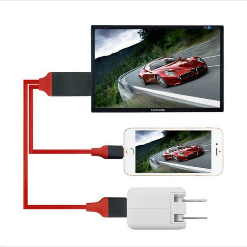 Câble TV HDMI pour écran USB miroir TV 1080P HD pour iphone 6s plus iphone 7 7plus ipad