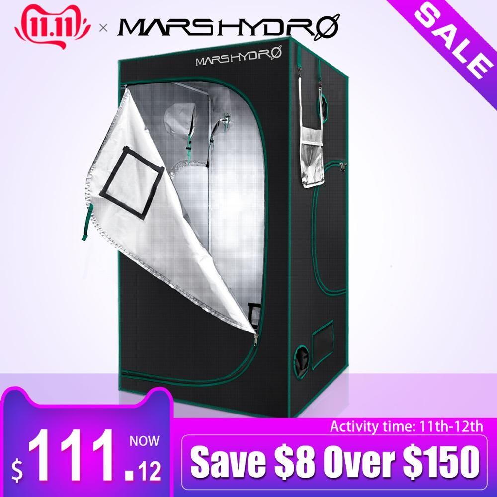 1680D Marshydro Wachsen Zelt/Box 120*120*200 cm für Hydrokultur Indoor LED Wachsen System