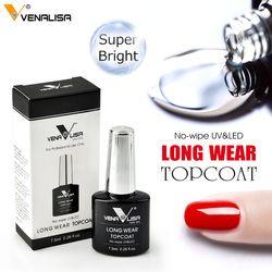 Venalisa 7.5ml Nail Gel Polish Color Nail Gel lacquer nail art Soak Off Dry Long Lasting topcoat Color Gel nail polish supply