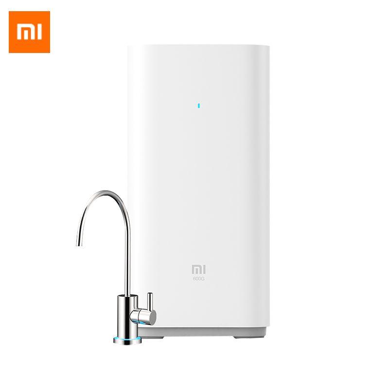 Original Xiao mi mi Smart Wasserfilter 600G Unter Küche Umkehrosmose Wasser Intelligente Monitor Wasserfilter mi jia APP