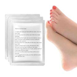 2pair=4pcs Foot Mask for Legs Peel Dead Skin Exfoliating Foot Mask Cream Socks for Pedicure Cracked Heels Baby Foot Peeling Mask
