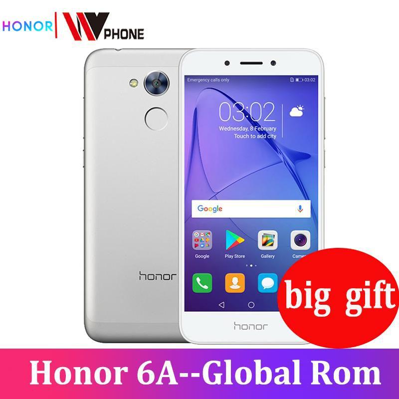 Honor 6A Play 2GB 16GB Original nouveau téléphone Mobile Snapdragon 430 Octa Core Android 7.0 5.0 pouces identification d'empreintes digitales