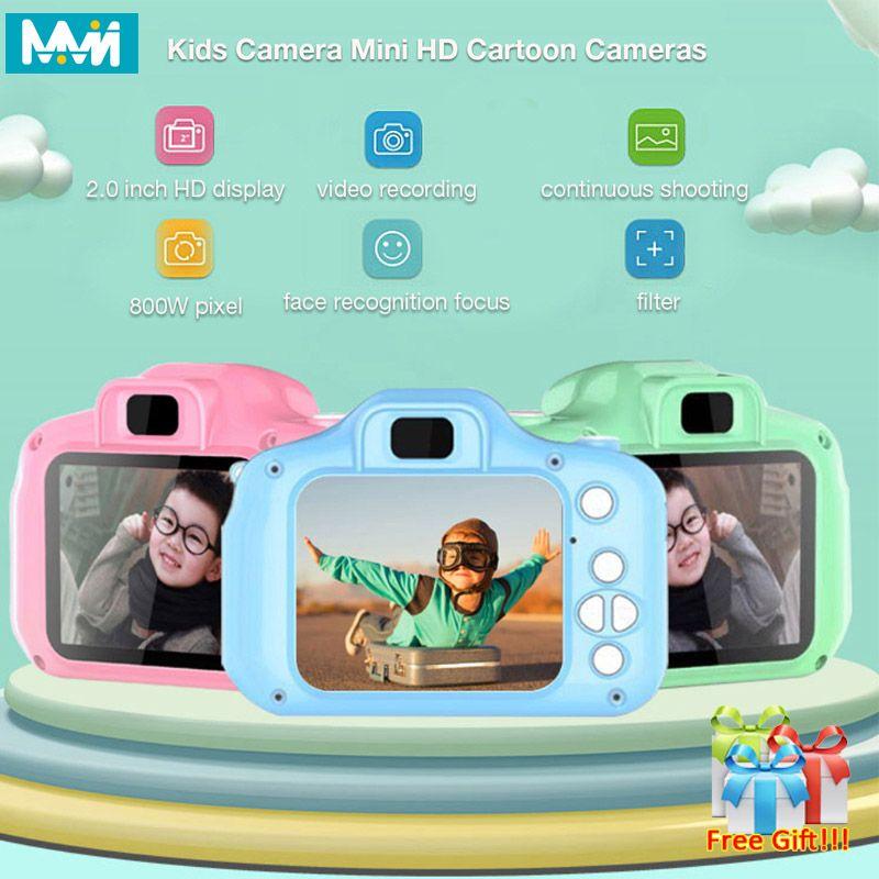 Enfants Mini caméra enfants jouets éducatifs pour enfants bébé cadeaux cadeau d'anniversaire caméra numérique 1080P Projection vidéo caméra