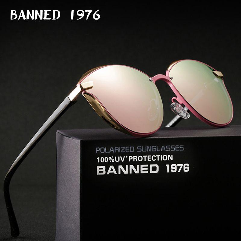 Interdit 1976 luxe femmes lunettes de soleil mode ronde dames Vintage rétro marque Designer surdimensionné femme lunettes de soleil oculos gafas