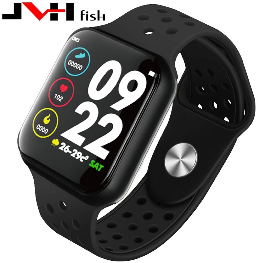 NEW F9 Sport Smart Watch IP67 Waterproof 15 days long standby Heart rate Blood pressure Smartwatch Support IOS Android PK s226