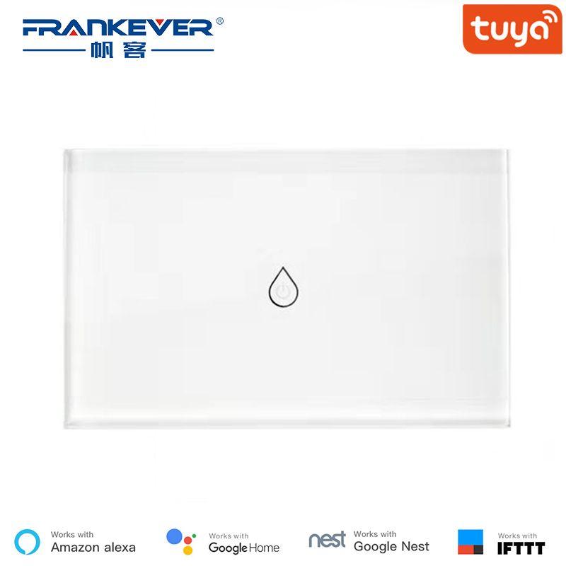 FrankEver israël 16A WiFi commutateur de chaudière intelligente chauffe-eau télécommande vocale travail avec l'application Tuya Alexa Google Home IFTTT