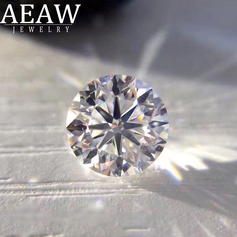 0.35ct-0.36ct 4,5mm F 3EX Runde HPHT Echt Diamant Labor Gezüchtet Diamon Lab Grown Diamant mit Zertifiziert