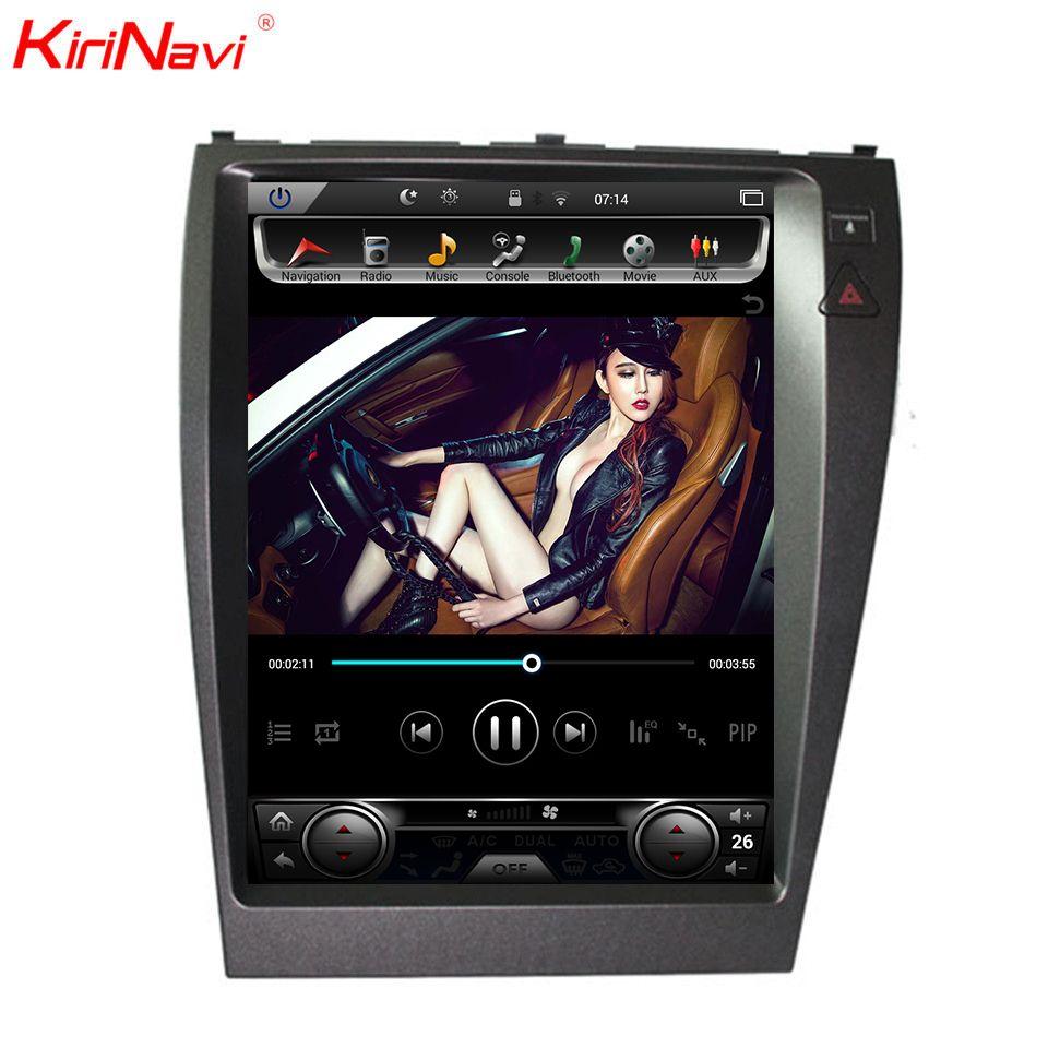 KiriNavi 12,1 ''1 Din Android 8.1 Auto Radio GPS Navigation Für Lexus es ES240 ES350 Auto Dvd Multimedia Player 2006 -2012 WIFI 4g