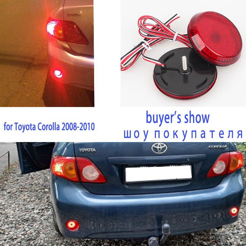 Pour Toyota Corolla 2008-2010 feux arrière feu Stop voiture feux arrière feux stop signal pour Nissan Qashqai feux de frein