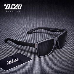 20/20 Classic Polarized Sunglasses Men Glasses Driving Coating Black Frame Fishing Driving Eyewear Male Sun Glasses PL278
