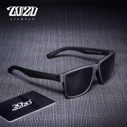 20/20Classic Polarized Sunglasses Men Glasses Driving Coating Black Frame Fishing Driving Eyewear Male Sun Glasses PL278