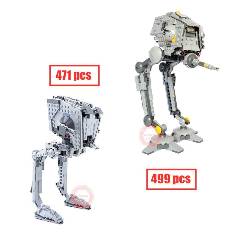 Nouveau le Rogue One impérial AT-ST Walker AT-DP Fit Legoings Star Wars Figures modèle blocs de construction brique jouets cadeau enfant anniversaire
