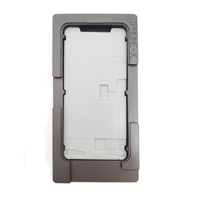 Für iPhone X XS MAX XR OCA Vakuum Laminieren Form No biegen flex Kabel Pad LCD Bildschirm Ausrichtung Mould Mobile telefon Reparatur Werkzeuge