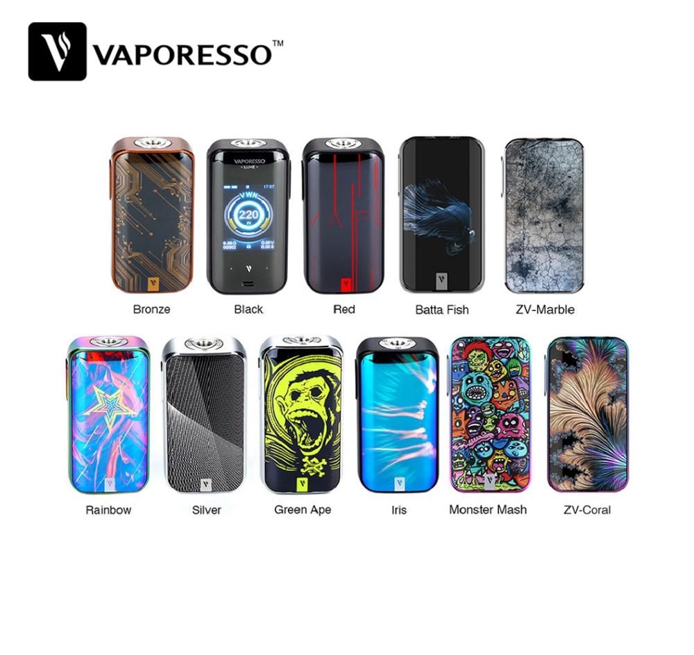 Original Vaporesso Luxe 220W Touch Screen TC MOD with 2.0 Inch Touch Screen & OMINI Board 4.0 Chipset & 0.001s Firing Speed Mod