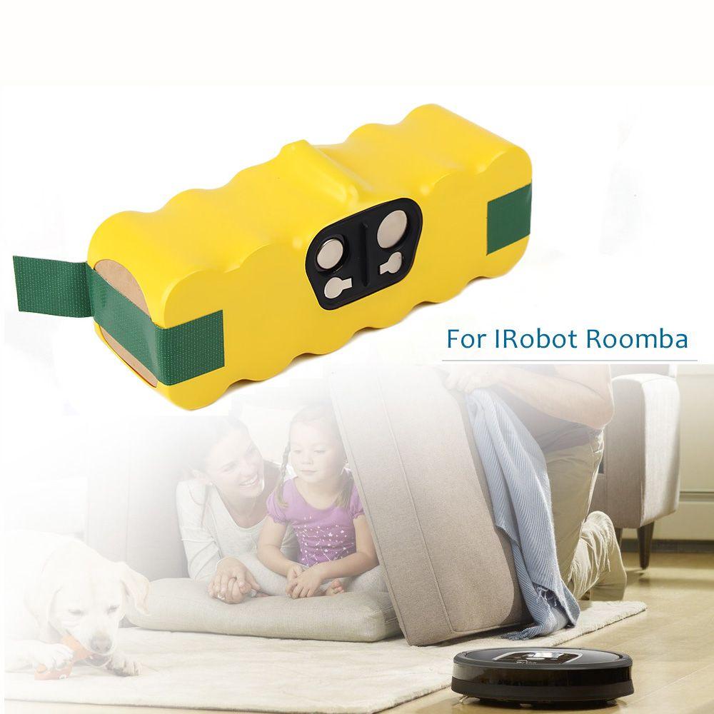 ELEOPTION Haute Capacité 4500mAh 14.4V Batterie Pour aspirateur iRobot Roomba 500 530 540 550 620 600 650 700 780 790 870 & 4.0ah