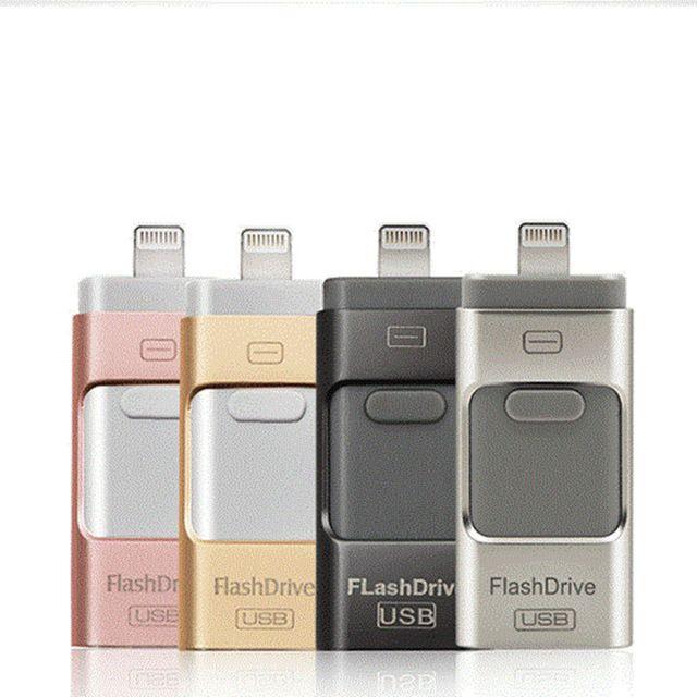 OTG Usb-Stick 8GB 16GB 32GB 64GB 128GB Stift drive speicher memory stick Für iphone X 8 7 Plus 6 6s Plus 5S ipad Stick