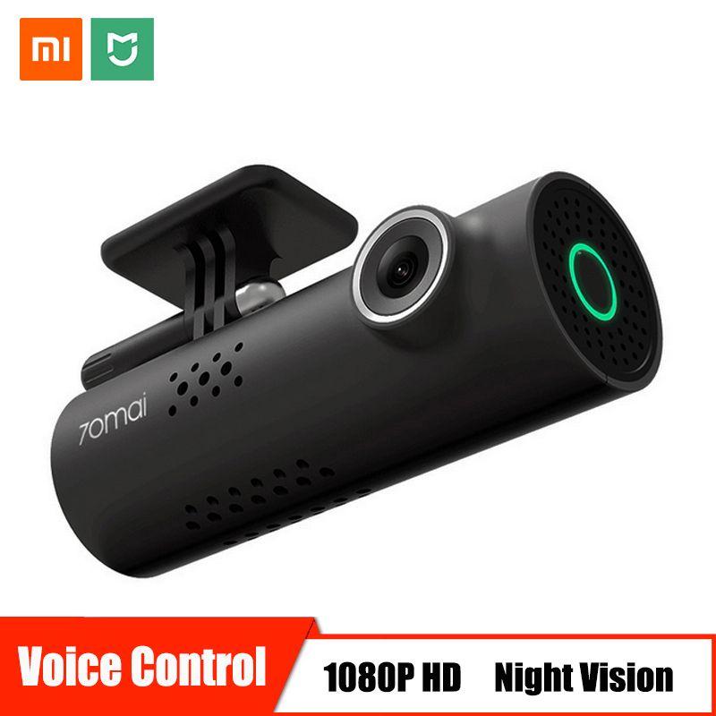Commande vocale Xiaomi 70mai Voiture DVR Caméra Full HD 1080P Dash Cam Voiture Caméra Vision Nocturne Wifi 130 Grand Angle Enregistreur Vidéo Automatique