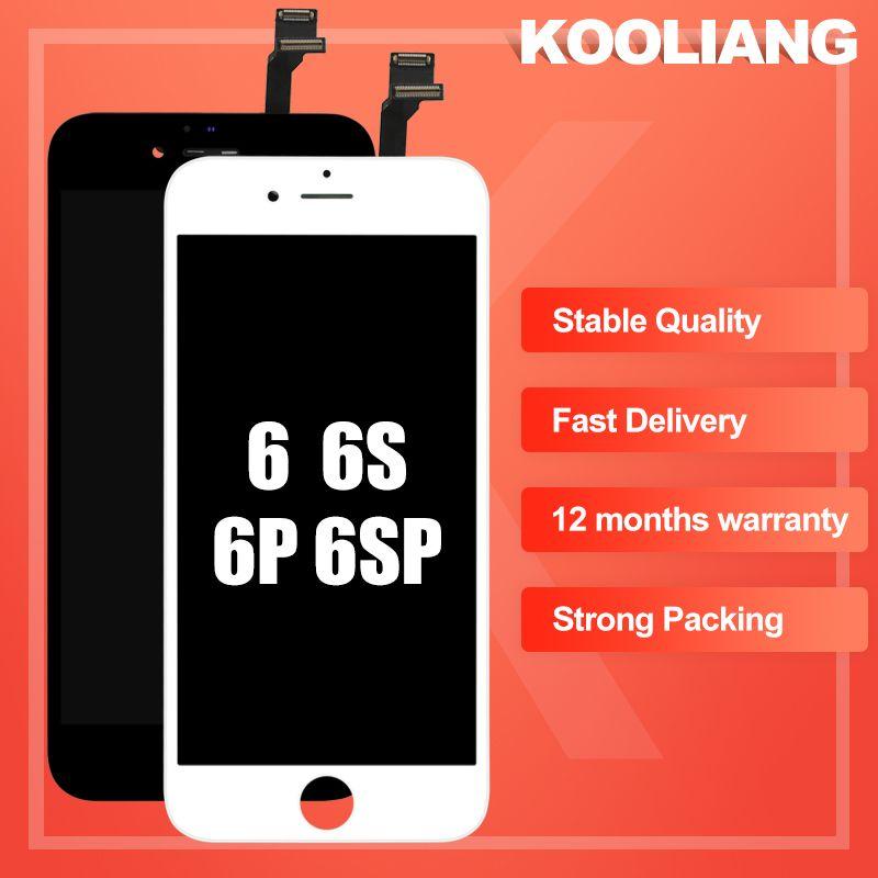 Alibaba express assemblée LCD affichage numériseur alabla pour iPhone 6s 6S PLUS écran tactile pour iPhone 6 7 7PLUS pas de Pixel mort