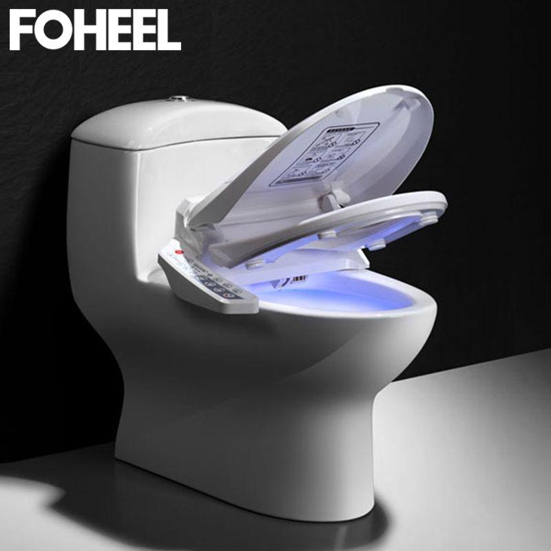 FOHEEL Smart Wc Sitz Elektrische Bidet Abdeckung Intelligente Bidet Wärme Saubere Trockenen Massage Intelligente Wc Sitz
