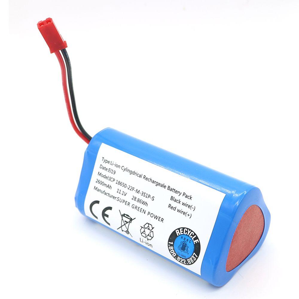 11.1V 2600mAh Li-ion batterie pour ILIFE ecovacs pièces de rechange pour Chuwi ilife X3 V3 V5 V5PRO V5S CW310 V7 ecovacs CEN250