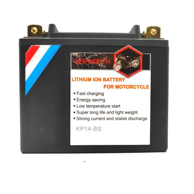 KP14L-BS Hohe Qualität LiFePO4 Batterie 12V 14Ah CCA 520A LiFePO4 Lithium-eisen motorrad batterie Batterie mit Spannung schutz