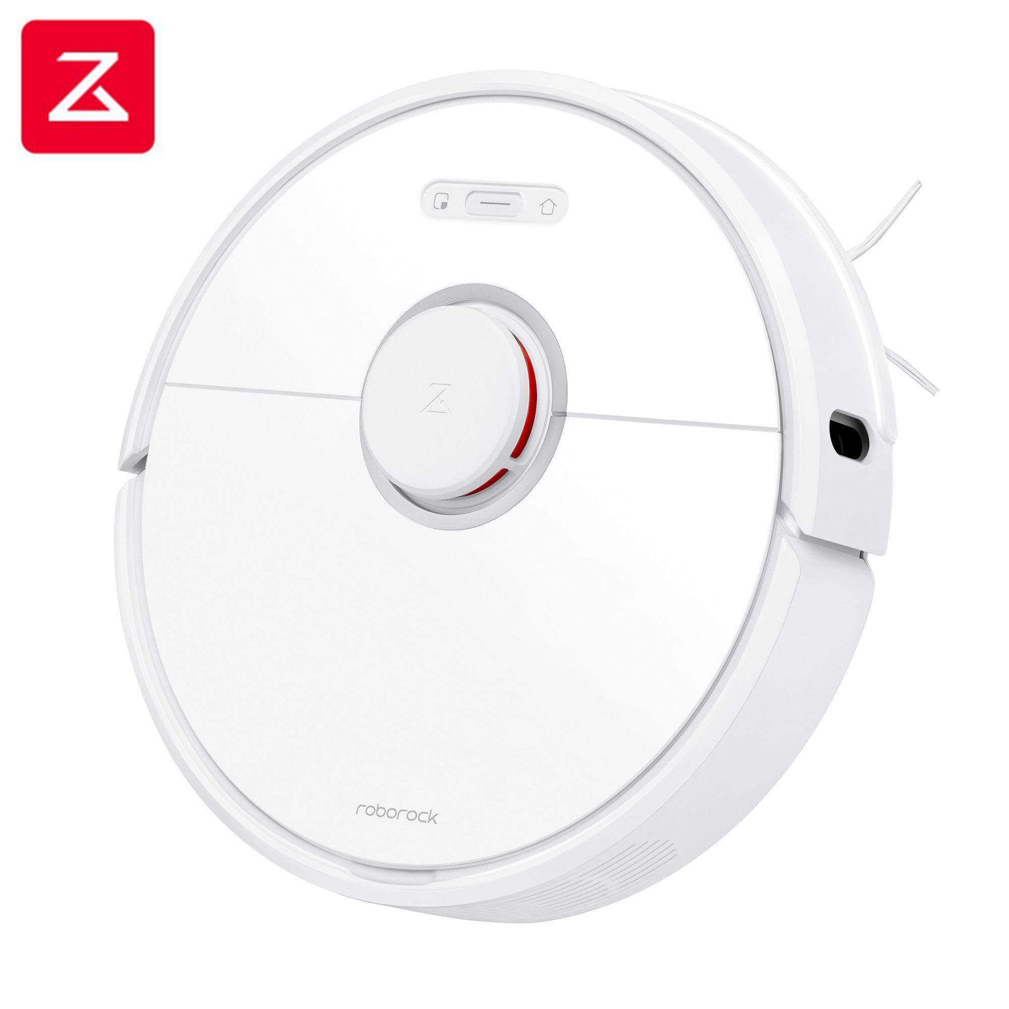 Roborock S6 Weiße Roboter Vakuum Reiniger Hause Automatische Kehren Staub Sterilisieren Smart Geplant Waschen Wischen VS Roborock S50 S55