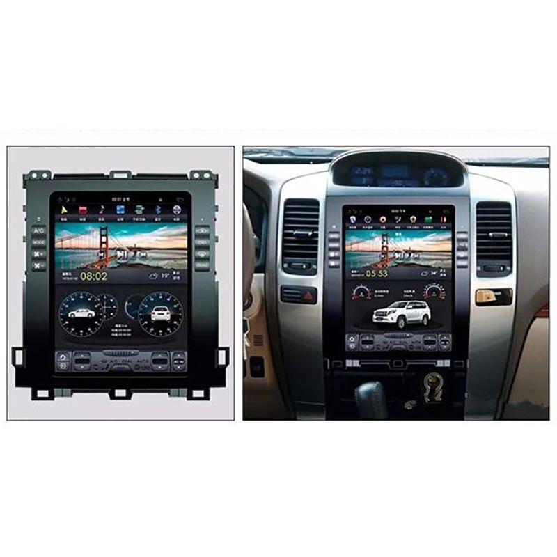 ChoGath 10,4 zoll 2G RAM + 32G ROM Android 7.1 Auto GPS für Prado 120 2006 2007 2008 2009 withGPS auto radio Keine DVD mit karten