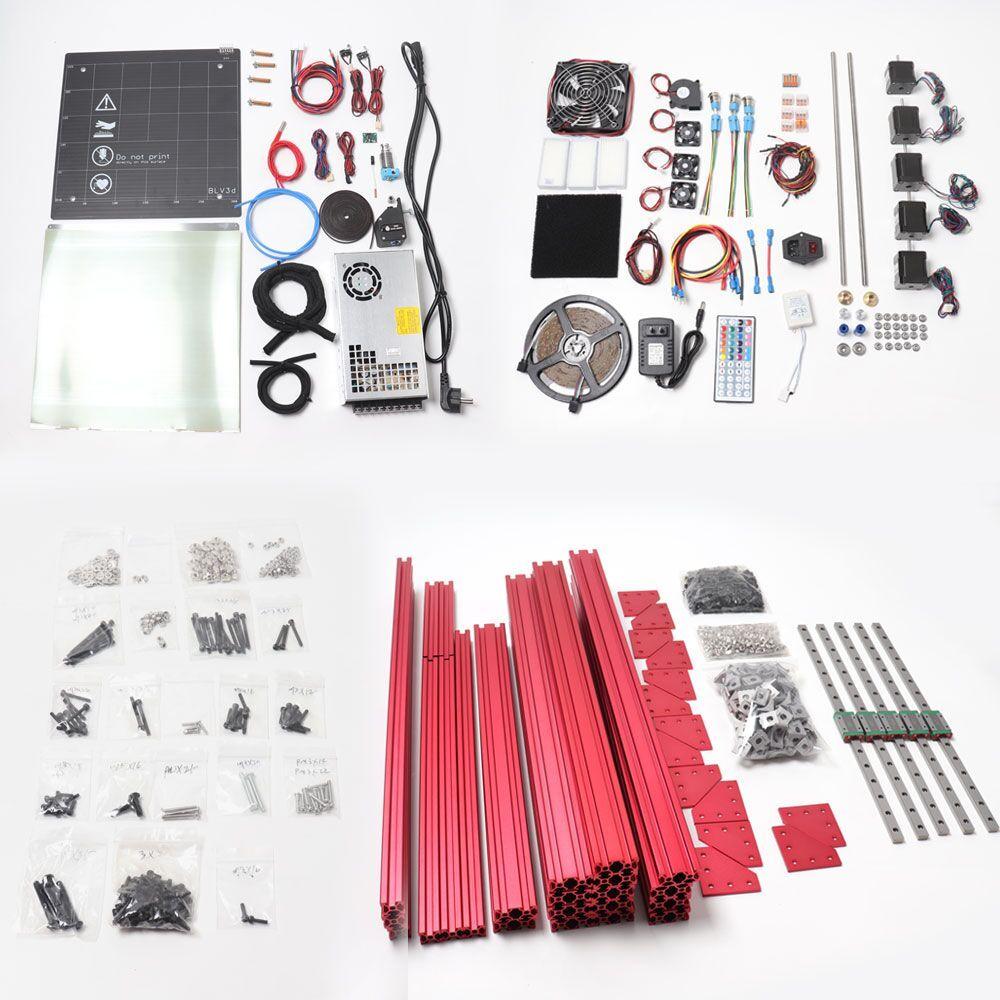 BLV MGN Cube 3d drucker Lite kit, ohne mainboard und seite panels