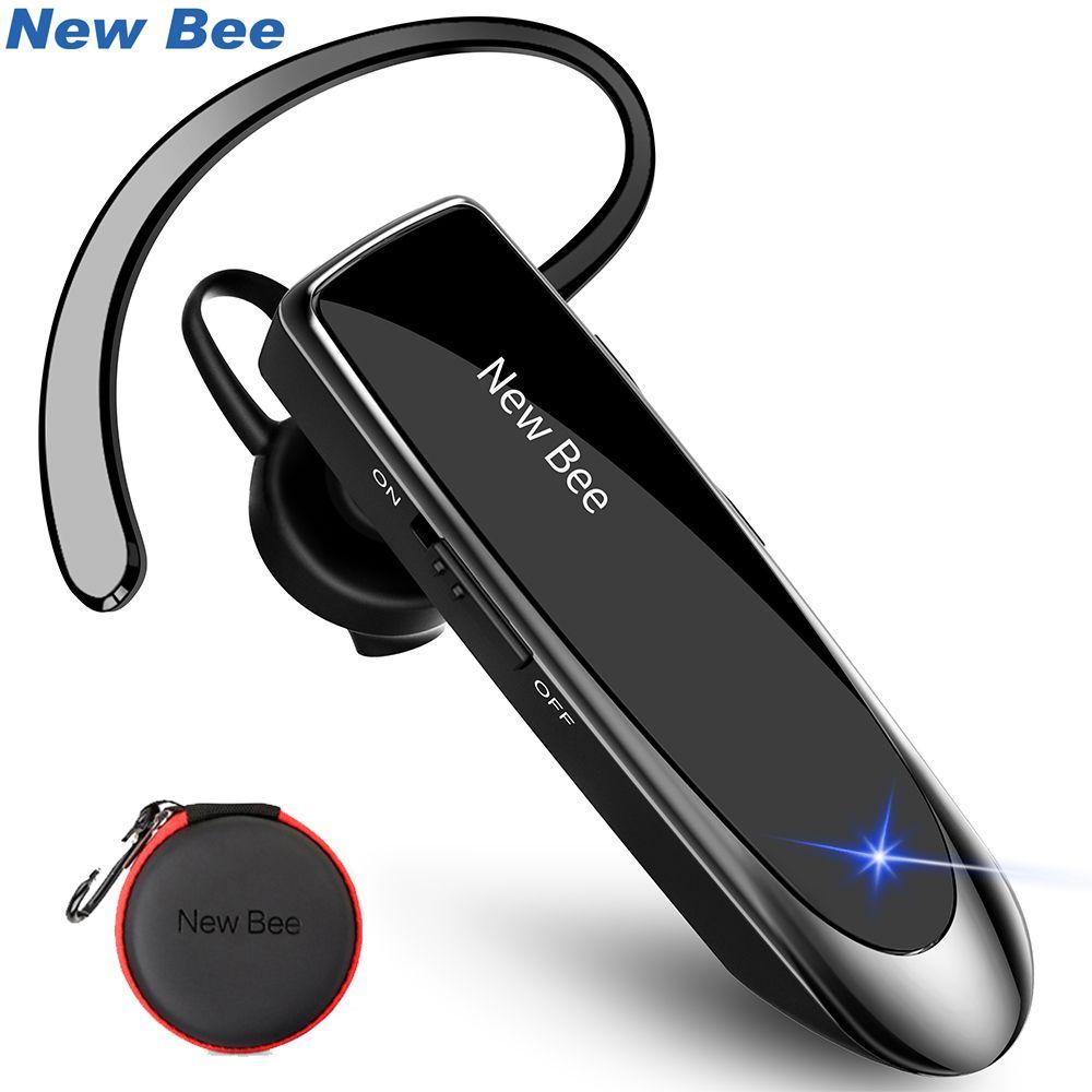 Nouveau abeille main-libre sans fil Bluetooth écouteur écouteur Mini Bluetooth casque casque avec micro 22 H musique pour iPhone xiaomi