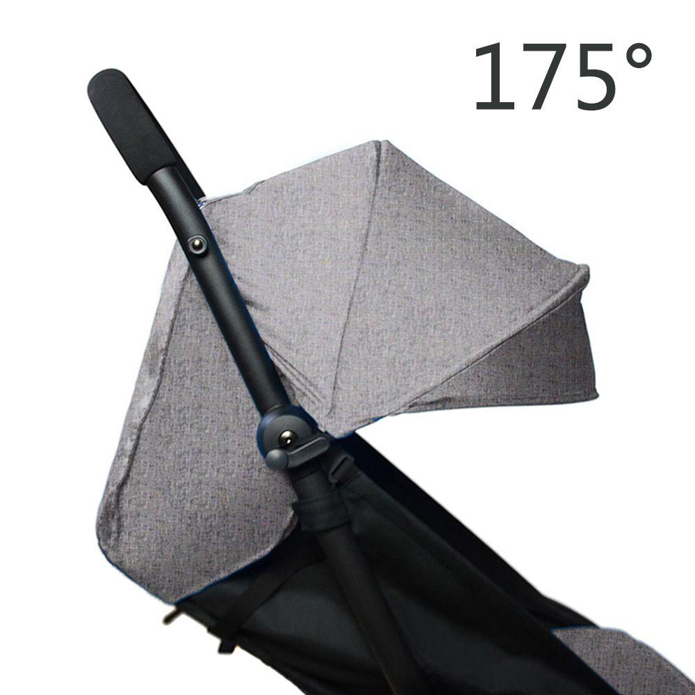 175 degrés bébé poussette Pad + pare-soleil housse pour Babyzen Yoyo Yoya infantile landau accessoires parasol auvent coussin siège Liner