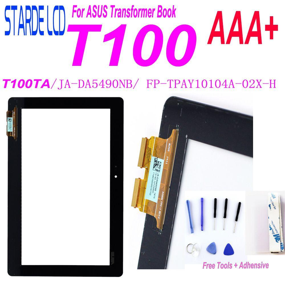 Starde 10.1 pour ASUS Transformer livre T100 T100TA écran tactile numériseur capteur tablette PC pièces FP-TPAY10104A-02X-H JA-DA5490NB