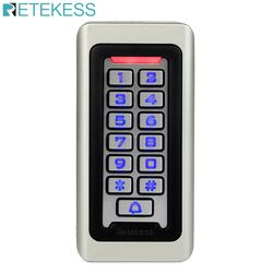T-AC03 Keypad RFID Access Control System Proximity Card Standalone 2000 Users Door Access Control Waterproof Metal Case F9501D