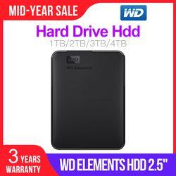 Western Digital WD Elements Portable HDD External HDD 1TB HDD 2TB 2.5