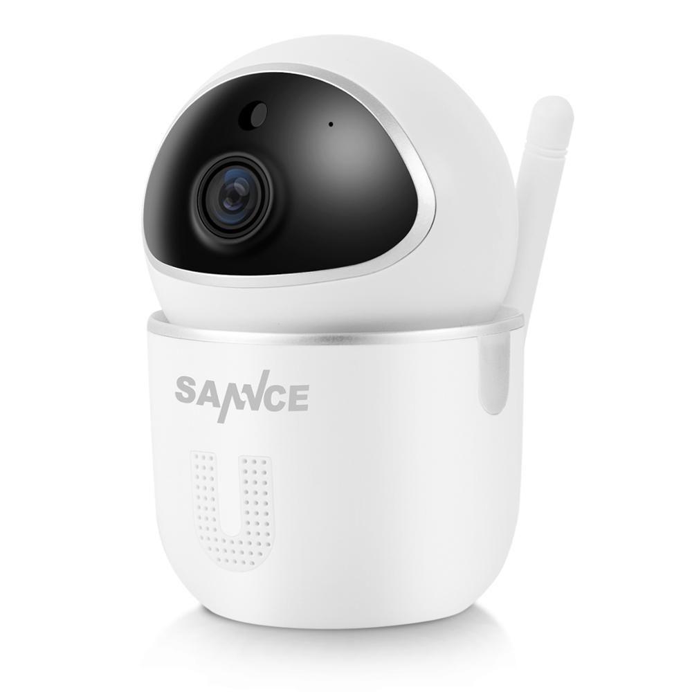 SANNCE sécurité à domicile caméra IP Wi-Fi sans fil Mini réseau caméra Surveillance Wifi 720 P Vision nocturne CCTV caméra bébé moniteur