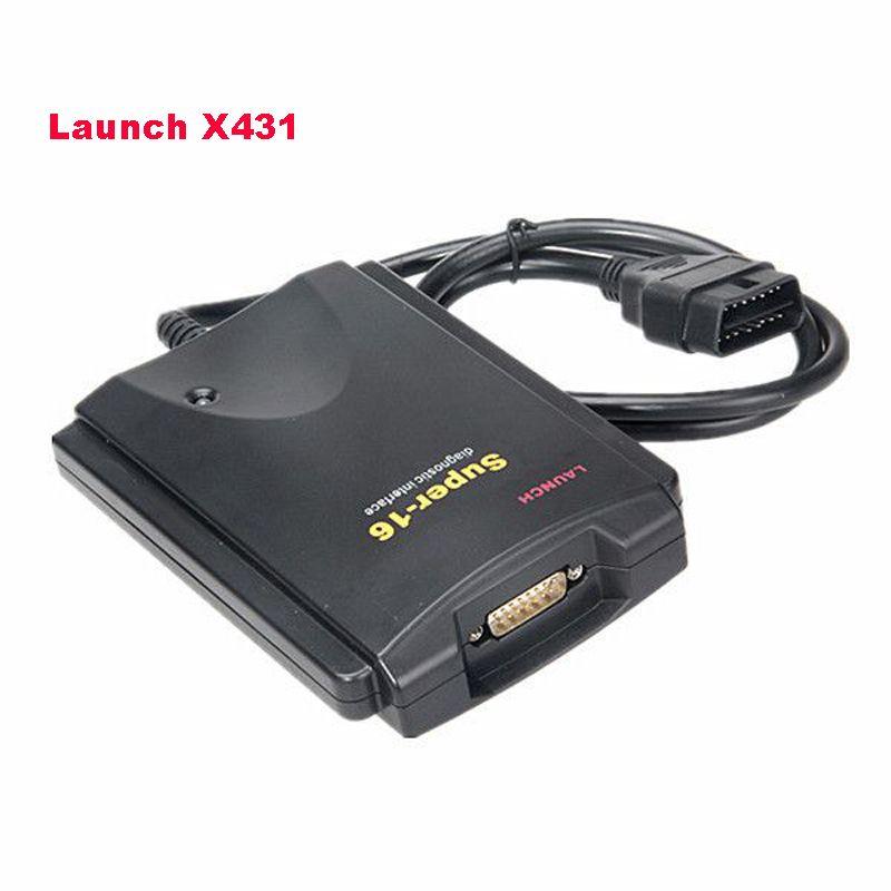 Original X431 Super 16 Diagnose Stecker Für Launch X431 Diagun III/Werkzeug/Master/IV Auto OBDII OBD2 diagnose Tool
